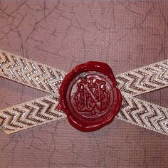 A wax seal means the contents of an envelope is something special.