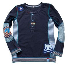 HILDE pattern by farbenmix.de, sewing for boys