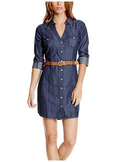 Delilah Chambray Shirtdress