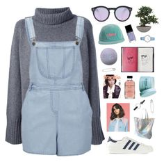 """this isn't my style, help."" by ruthaudreyk ❤ liked on Polyvore featuring Illesteva, Vanessa Bruno, Influence, adidas Originals, Lux-Art Silks, Bobbi Brown Cosmetics, The Body Shop, Timex, PA Design and samlikes"