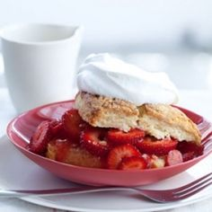 Strawberry Shortcake Time. Berry quality is paramount in this not-too-sweet recipe --> use the best berries you can find!
