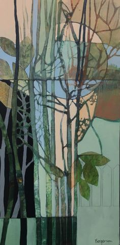 Acrylic-Collage – Page 2 – Judith Bergerson / JackPine Studio Abstract Landscape, Landscape Paintings, Abstract Art, Landscapes, Tree Paintings, Flower Paintings, Modern Art, Contemporary Art, Tree Art