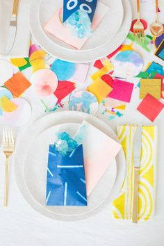 Make It Bold: A Vibrant Color Coded Birthday Packed with DIY Ideas + Printables | Paper and Stitch