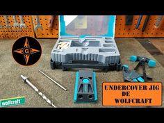 WOLFCRAFT Undercover Jig , guía para fijación invisible de TORNILLO OCULTO GINESSOT - YouTube Wolf Craft, Pocket Hole, Undercover, Youtube, Occult, Youtubers, Youtube Movies