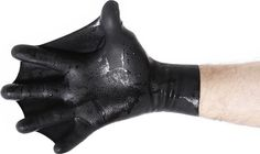 DarkFin Gloves ($25) fix half of this equation with a rear-webbed design that increases surface area by 70%, helps you tread water using less energy, and builds upper body strength. They're made from durable, flexible latex rubber, and