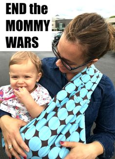 Cloth vs. disposable. Breast vs. bottle. Working vs. stay at home. These are the mommy wars and they have to end. Parenting is hard. We all make tough choices and only want what's best for our babies. Yet 95% of moms have experienced judgment. It's a growing problem that needs to stop. Here's how to do it.