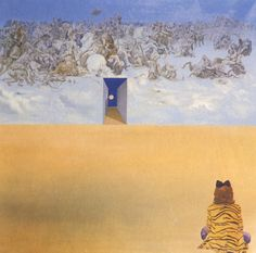 Battle in the Clouds - Salvador Dali - WikiPaintings.org