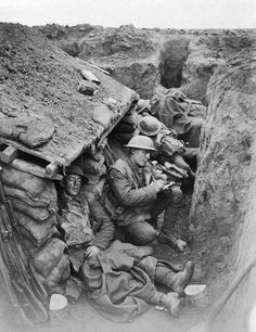 Most activity in front line trenches took place at night under cover of…