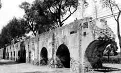 Acueducto de Chapultepec.