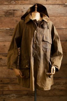 thornproof:  Barbour smock. A later version of this piece is called the Longshoreman.