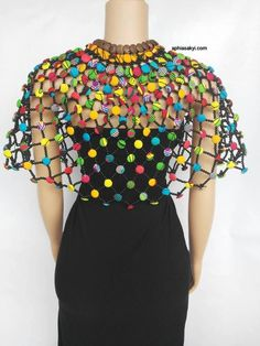 BOAHEMAA CAPE..... beadsbody jewelry african body jewelry   Etsy