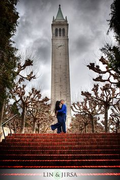 UC Berkeley Engagement Photography | Sam and Mike
