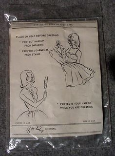 Vintage Betty Dain Beauty Mask for makeup and hair new never opened. $20.00, via Etsy.