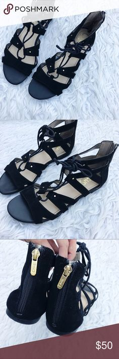 Sam Edelman lace up sandals Gladiator lace up sandals Sam Edelman Shoes Sandals