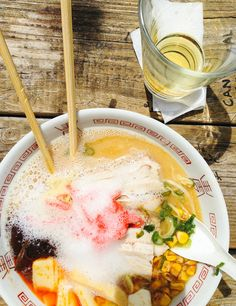 Ramen at East Side King Hole in the Wall - Austin, Texas - photo by Aimee Wenske