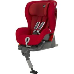 Romer SafeFix Plus Kindersitz 9-18 kg Flame Red - Bild