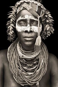 vanishingcultures: ethnicity and location unknown Photo by Mario Gerth from his series throughout the African Continent