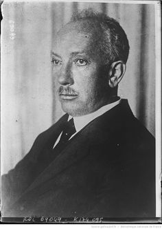 Richard Strauss (1864-1949), composer. Photograph by Agence Rol, 1921