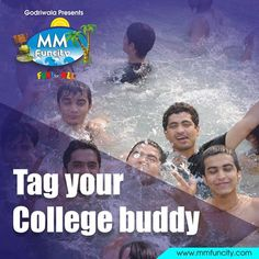 Tag your #BestFriend who has always been there for you during the #college days! Relive the college memories at #MMFunCity and this winter - feel the warmth of #FRIENDSHIP. For More: https://goo.gl/Su9dWZ