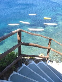 the photo was taken by me in Skyros island in greece Sup Yoga, Space Place, I Love The Beach, Stairway To Heaven, Stairways, Strand, Seaside, The Good Place, Surfing