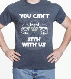 "Disney Tank, Shirt, or Raglan // Star Wars - Mean Girls Mashup // ""You Can't Sith With Us"" by CraftiestPlace on Etsy https://www.etsy.com/listing/286220239/disney-tank-shirt-or-raglan-star-wars"