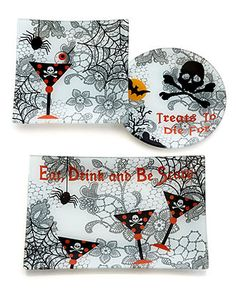 Eat, drink and be scary