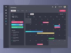 Visualization Dashboard UI Kit by Rush on Dribbble Project Dashboard, Dashboard Ui, Dashboard Design, Wireframe Design, Web Ui Design, Software, Schedule Design, Powerpoint Design Templates, Interface Design
