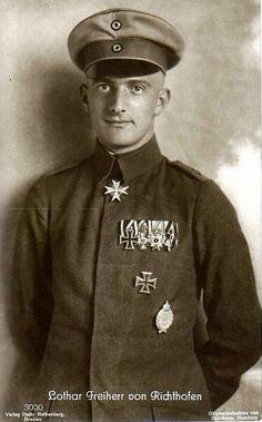 Portrait of Lothar von Richthofen