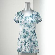 Simply Vera Vera Wang Print Tee - Women's