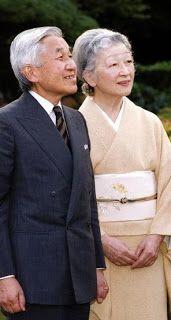 Japanese Emperor Akihito.