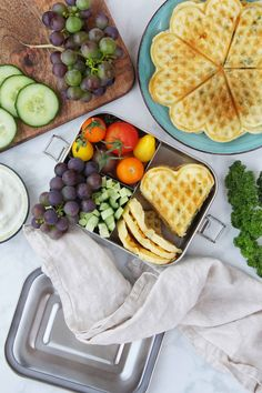 Food Inspiration, Waffles, Cooking, Breakfast, Blog, Waffle Iron, Recipes For Children, Fruit And Veg, Berries