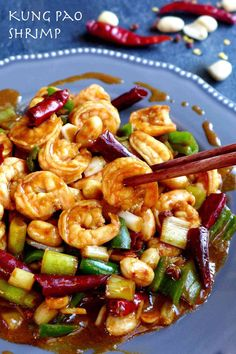 Kung Pao shrimp (宫保虾仁) – Red House Spice