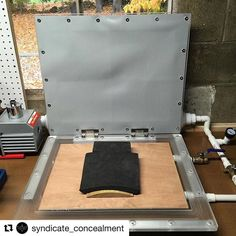#Repost @syndicate_concealment with @repostapp Can't wait to start using our new @hdindustrialdesign press!  #kydex #hdindustrialdesign #workshop #mancave #thinblueline #glock #sig #coplife #itstime