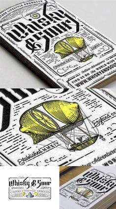A Letterpress Business Card | Business Cards | The Design Inspiration