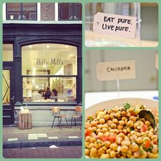 A cosy conceptual pure food spot in down town Delft. The owners are sweethearts.
