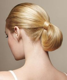 Pony Bun | RealSimple.com: Quick Tips for Knockout Hairstyles | Comcast.net