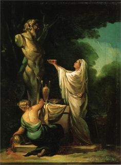 Colossus - Francisco Goya -1771