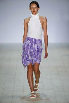 skirt! & top // Karla Spetic Australia Resort 2017 Fashion Show