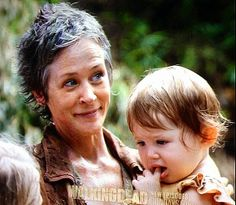 At least we know Judith is in good hands.... Carol would die before letting something happen to Judith.