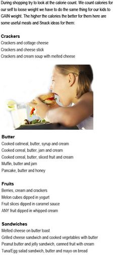 High calorie foods for kids are supposed to increase the healthy calories on the food our children take. They may not take larger amount of food Weight Gain For Kids, Healthy Weight Gain, Lose Weight, Weight Loss, High Calorie Snacks, High Calorie Diet, Diet For Children, Failure To Thrive, Full Body Weight Workout