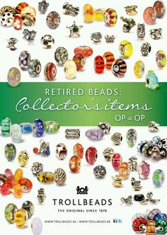 Collection of RETIRED Trollbeads