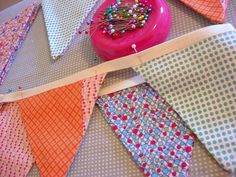 Make Bunting! joyfulabode.com shows how!