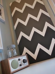 Chevron Design, make mine a Ombre Wall Painting/Art!