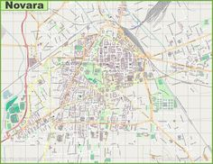 Large detailed map of Palermo Maps Pinterest Palermo and Italy