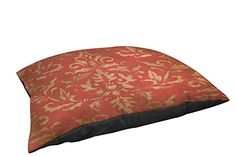 Special Offers - Thumbprintz Fleece-Top Pet Bed 40 by 30-Inch Golden Baroque - In stock & Free Shipping. You can save more money! Check It (October 22 2016 at 07:34AM) >> http://doghousesusa.net/thumbprintz-fleece-top-pet-bed-40-by-30-inch-golden-baroque/