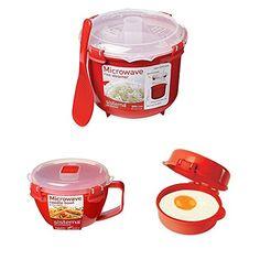 Sistema Microwave Cookware Rice Steamer -http://kitchenrecipe.org/wp-content/uploads/2017/06/f0e05f99a68c.jpg- http://kitchenrecipe.org/product/sistema-microwave-cookware-rice-steamer/