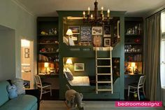 Lovely Queen Loft Beds For Adults In Your Residence - http://www.bedroomdesignz.com/bedroom-design/lovely-queen-loft-beds-for-adults-in-your-residence.html