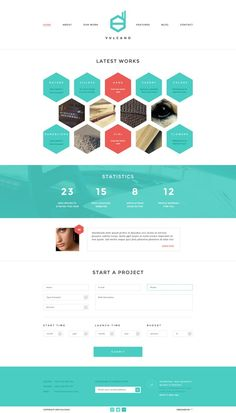 Vulcano - Creative WordPress Theme http://themeforest.net/item/vulcano-creative-wordpress-theme/4990739?ref=wpaw #website #template #wp #cms