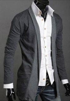 Trendy Men's #Cardigan