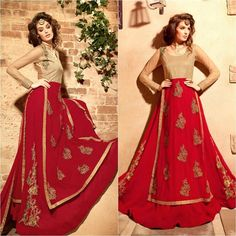 Attractive Red Embroidered Anarkali Suit  Product Info : Color: Red Style: Anarkali Suit Work: Embroidered Patch Border Work Fabric: Net Georgette Occasion: Party Festival Limited Stock Available Only  Price : 2500 INR Only ! #Booknow  CASH ON DELIVERY Available In India ! World Wide Shipping !  For orders / enquiry  WhatsApp @ 91-9054562754 Worldwide Shipping !  #SHOPNOW  #indianwear #ethnicwear #bollywood #dress #outfit #salwarkameez #saree #lehengacholi #style #fashion #love #look #bridal…